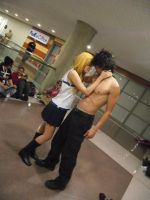 GrayLu Fairy Tail Fan Service by SpiderNhan