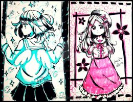 Blue and Pink by AngelLinx3