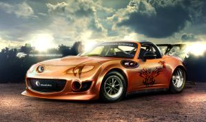 Mazda Mx-5 drag-ON by EmreFast