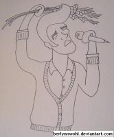 British People With Tentacles - Morrissey by berlynnwohl