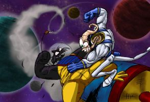 EarthWorm Jim VS Pyscrow by jaredjlee