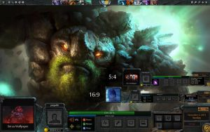 Dota 2 Game HUD Rainmeter by yorgash