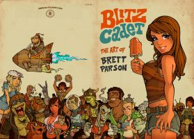 Art Book Cover by blitzcadet
