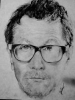 Gary Oldman's portrait by ogaothin