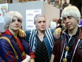 Dante, Nero And Virgil by TommEdge4Life