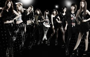 SNSD RDR Group picture by kaskusone