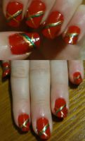 Christmas Nails by kelles-nails