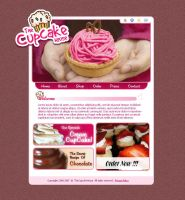 CupCake House Site by t4m3r by designerscouch