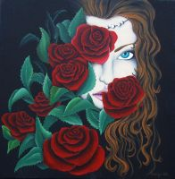 Rose by AntoA
