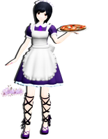 Maid to Order pizza!..... by Carol--chan