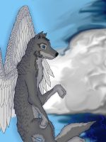 Guardian of the sky (redo) by Lonewolf23pro
