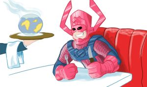 Galactus is Hungry by sman118