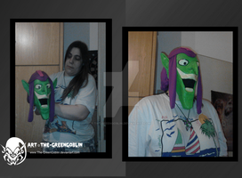 Spectacular Spider-Man Green Goblin Cosplay Wip 6 by The-GreenGoblin