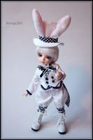 White Rabbit I by MiniVega