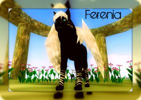 Ferenia-Angel in the Mirror by WolfWhisperer4Life