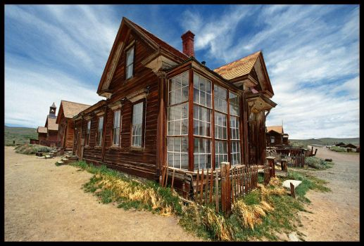 J. S. Cain Residence Bodie by infraZoom