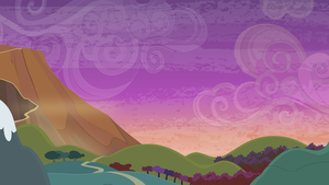 Group Background #8 - Road to a Volcano by MLP-Vector-Collabs