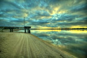 Barwon Heads Pier Sunrise 2 by DanielleMiner