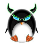 Evil Cyber Tux by Blood-Solice