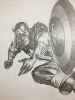 Captain America : Shield Throw! by nappyboy67
