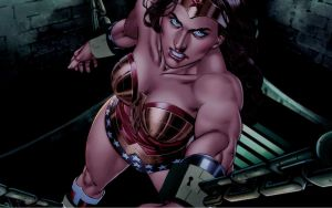 Wonder Woman, Incarcerated by dgrart2013