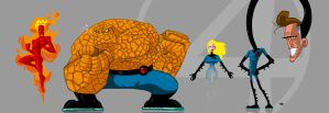 Fantastic Four by themico