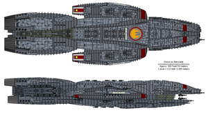 Deucalion class Battlecruiser by Barricade
