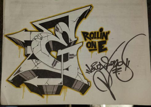 Rollin' on E by bugs-one