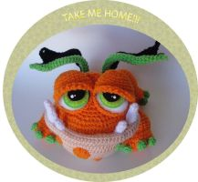 Fat Baby Dragon Crochet Pattern by peggytoes