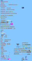 MLSS Dixie Kong Sprites Sheet by PxlCobit