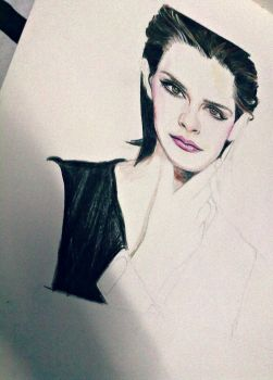 WIP EMMA WATSON by Mixartlove