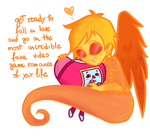 -get ready to fall in love- by RobicTheEscapist