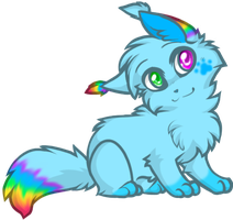 rainbows bleeeeeh by yeagar