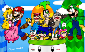 NSMB2 by paratroopaCx