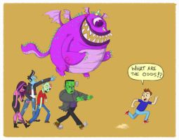One eye Franken Zombies by NicParris