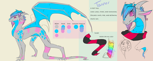 Tanner ref by fizzymoth