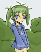 cave story Sue sketch by SnipingSnipe