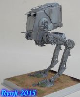 Bandai AT-ST04 by celsoryuji