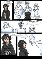 Rukia vsthe trio ghostly trio1 by archangemon