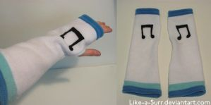 Vinyl Scratch Gloves by Like-a-Surr