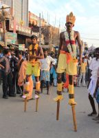 Stilts Runners by El-Amigo-Chico