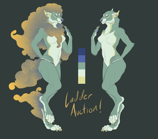 CHARITY LADDER AUCTION: Fu girl! (OVER!) by Nhyra