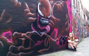 Venom Graffiti by MssMime