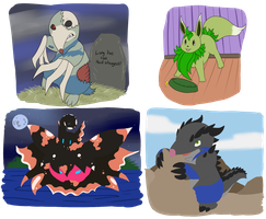 PKMNation Commission Examples! by Cheru-Hime