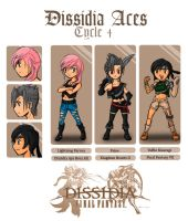 Dissidia Aces Cycle 4 app by utenafangirl