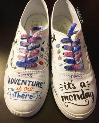 Personalized Shoes! by LittleGirl725