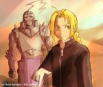 Elric Brothers -Full Metal by s-girl