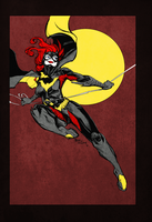 Batgirl - Colored by centric-prometheus