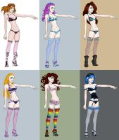 lingerie dressup by cocodesbois