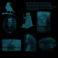 Gothic Poe by midnightstouch